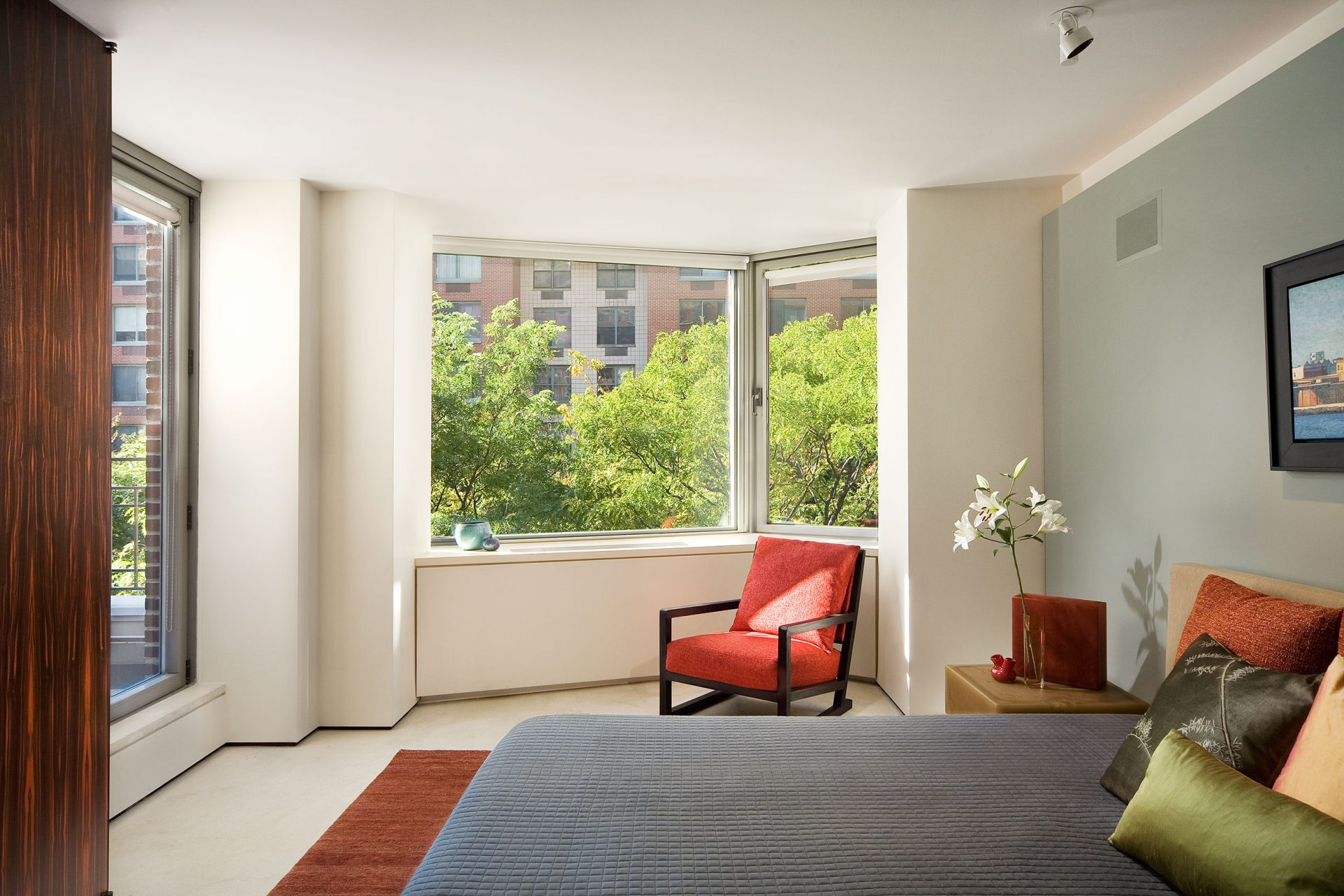 Interior view of Battery Park residence design by Paul Davis Architects