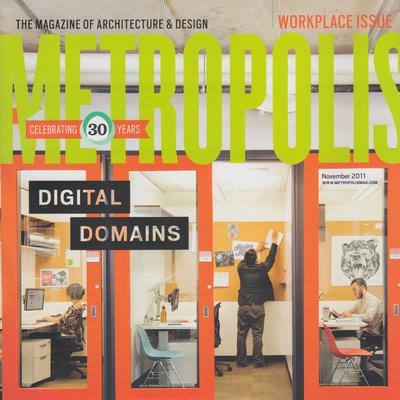 Metropolis Magazine November 2011