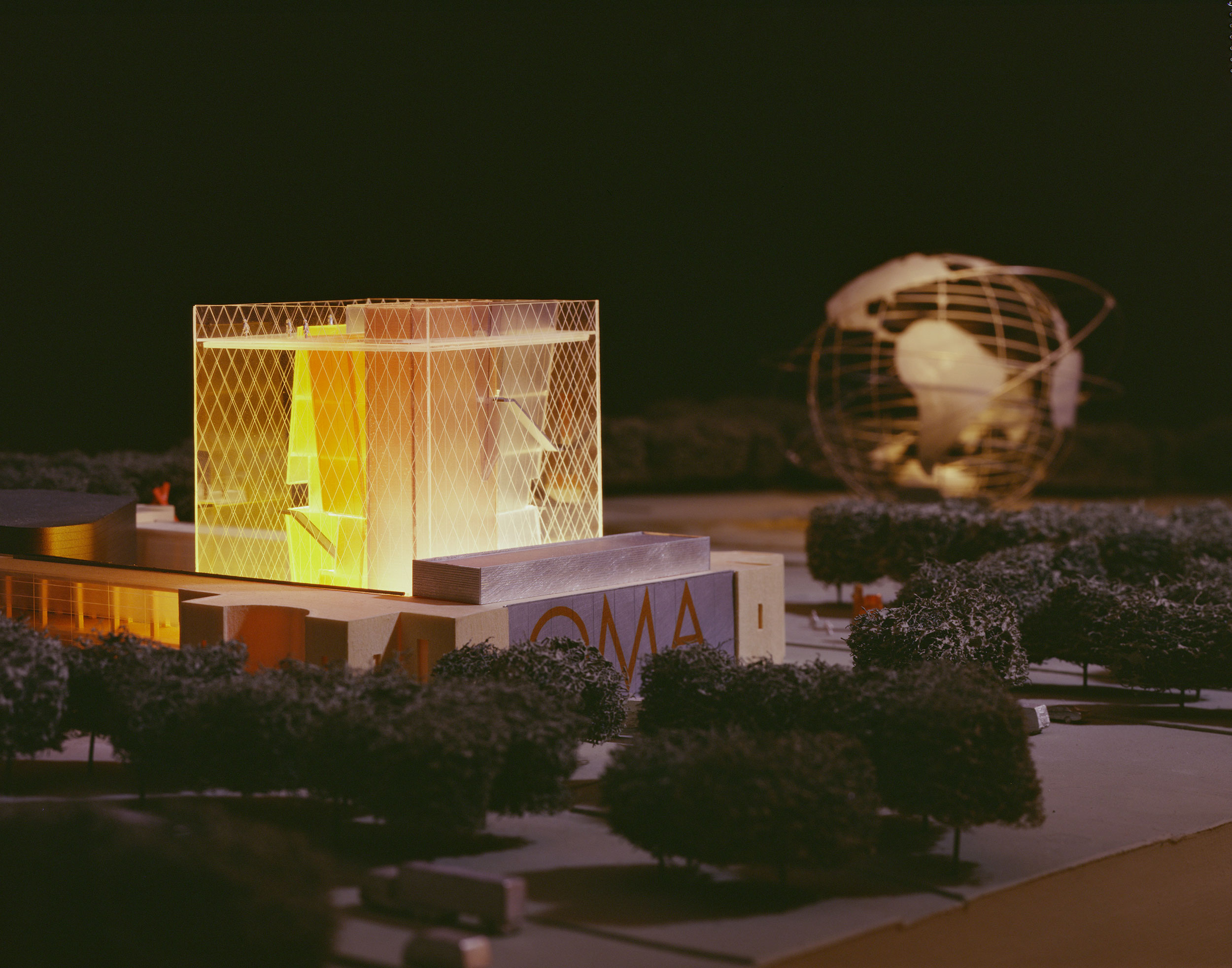 Bold, elegant design for the Queens Museum of Art competition in Queens, NY