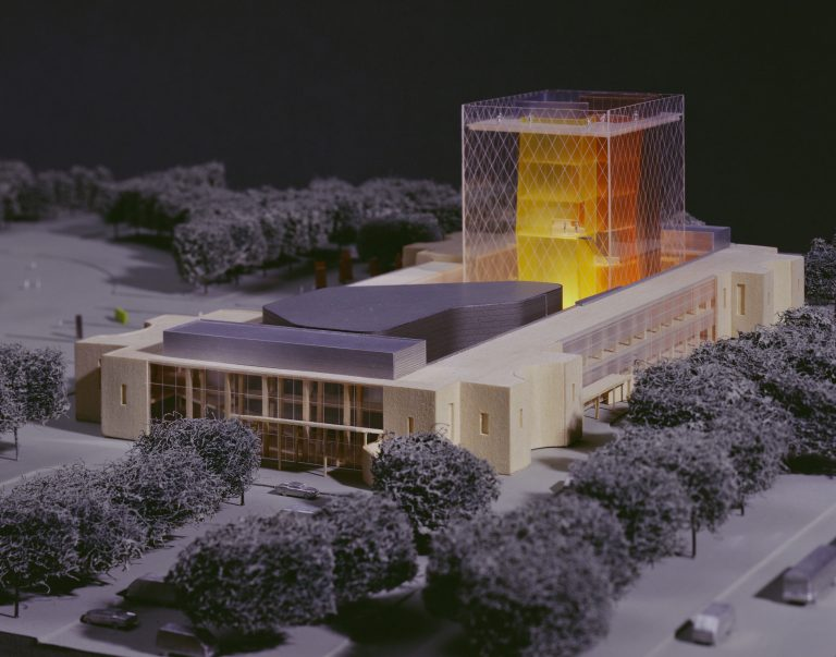 Model for the Queens Museum of Art Competition in 2004