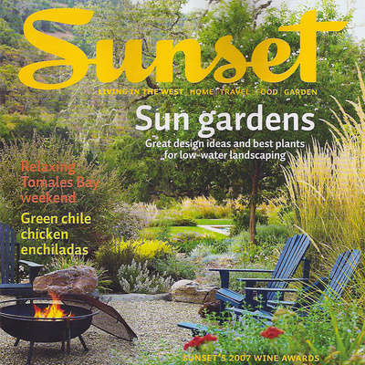 Sunset Magazine September 2007